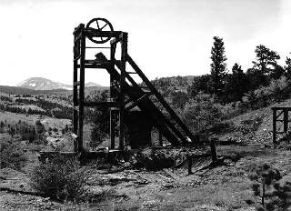 Maps Of Mines Mills In Boulder County - Us mining map counties